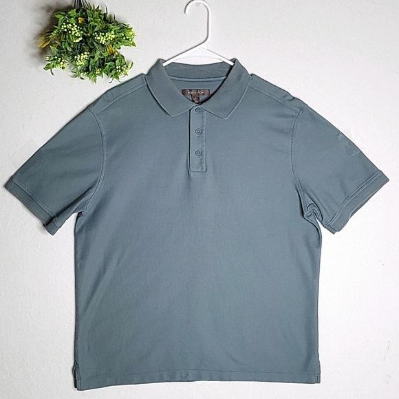 Nordstrom Gray Polo Shirt